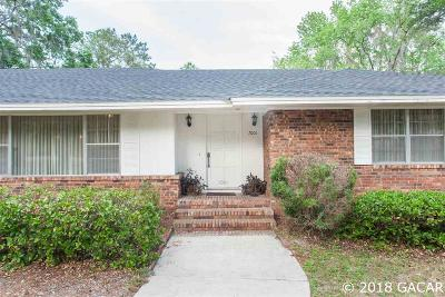 Gainesville Single Family Home For Sale: 7001 SW 30th Way