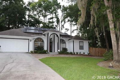 Gainesville Single Family Home For Sale: 11514 NW 15th Lane