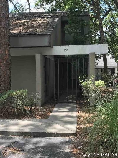 Gainesville FL Condo/Townhouse For Sale: $89,900