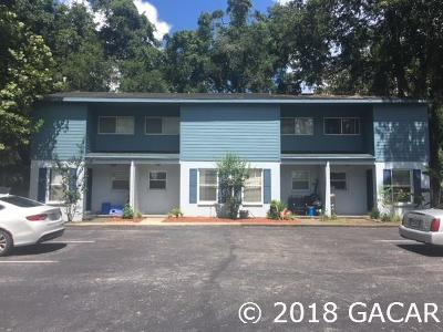 Gainesville Condo/Townhouse For Sale: 4007 SW 26th Terrace