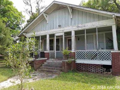 Williston Single Family Home For Sale: 15 SE 1st Avenue
