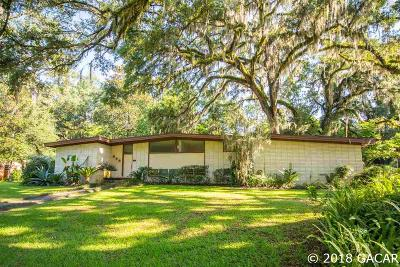 Gainesville Single Family Home For Sale: 1710 SW 49TH Place