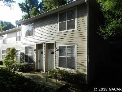Gainesville FL Condo/Townhouse For Sale: $106,500