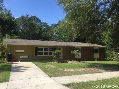 Gainesville FL Single Family Home For Sale: $139,900