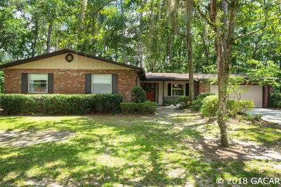 Gainesville Single Family Home For Sale: 3819 NW 33rd Place