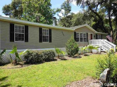 Gainesville FL Single Family Home For Sale: $120,000