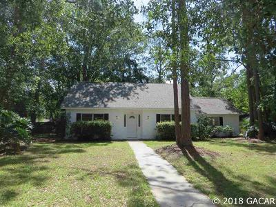 Gainesville Single Family Home For Sale: 6121 NW 27TH Terrace