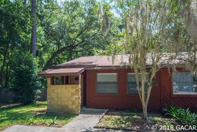 Gainesville FL Condo/Townhouse For Sale: $68,900