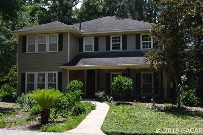 Gainesville Single Family Home For Sale: 4034 SW 21st Terrace