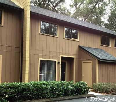 Gainesville Condo/Townhouse For Sale: 507 NW 39th Road #308