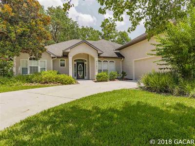 Gainesville Single Family Home For Sale: 8361 SW 75TH Road