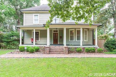 Gainesville Single Family Home For Sale: 17 NE 8th Street