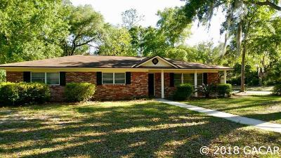 Gainesville Single Family Home For Sale: 4521 NW 19TH Avenue