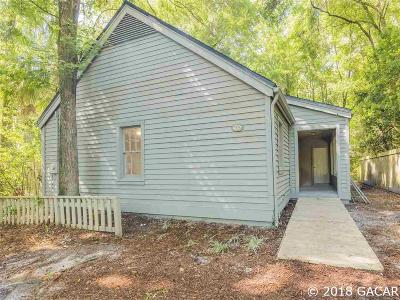 Gainesville FL Single Family Home For Sale: $150,000