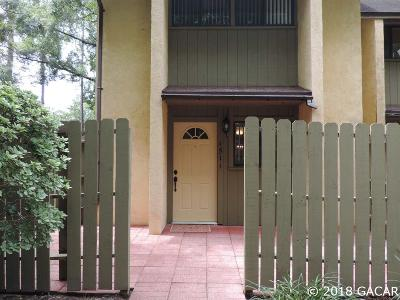 Gainesville Condo/Townhouse For Sale: 4511 NW 41st Street