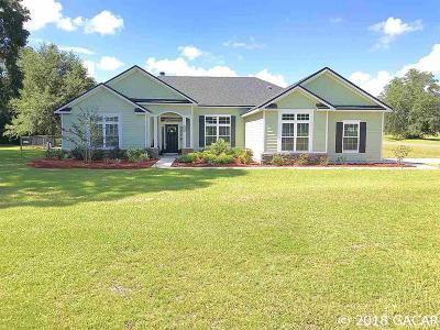 High Springs Single Family Home For Sale: 24983 NW 170th Road
