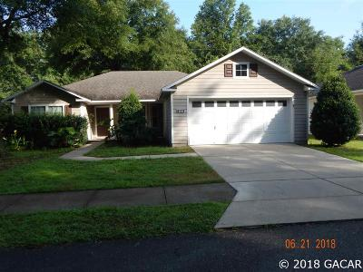 Alachua Single Family Home For Sale: 12104 NW 162 Drive