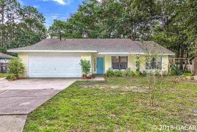 Gainesville Single Family Home For Sale: 4537 NW 20 Drive