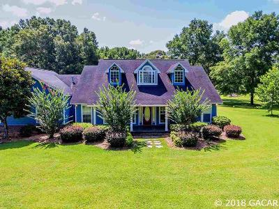 High Springs Single Family Home For Sale: 21125 NW 132nd Lane