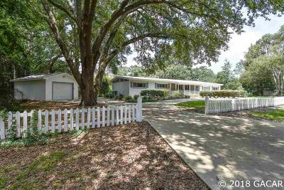 Gainesville FL Single Family Home For Sale: $294,500