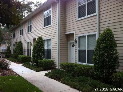 Gainesville Condo/Townhouse For Sale: 3521 SW 30TH Way #106