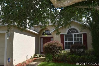 Alachua Single Family Home For Sale: 14391 NW 159 Lane