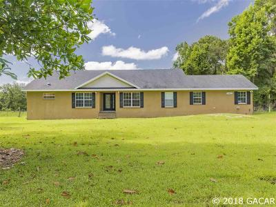 Micanopy Single Family Home For Sale: 10480 NW 193RD Street