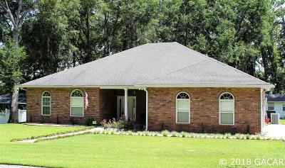 High Springs Single Family Home For Sale: 23350 NW 192nd Avenue