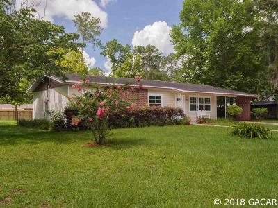 Gainesville FL Single Family Home For Sale: $180,000