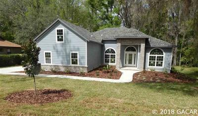 Alachua Single Family Home For Sale: 11094 Palmetto Drive