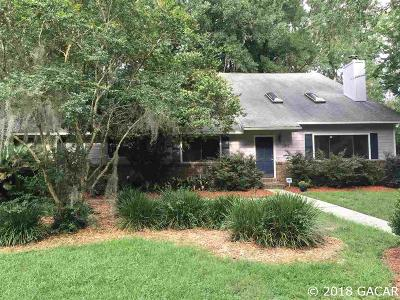 Gainesville FL Single Family Home For Sale: $298,500