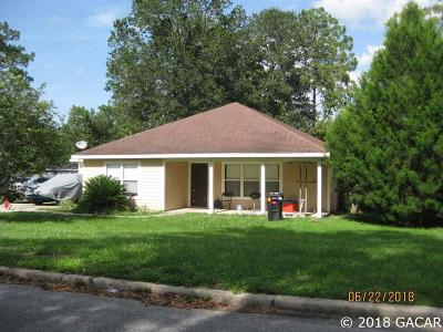 Gainesville FL Single Family Home For Sale: $142,000