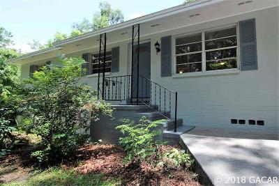 Gainesville FL Single Family Home For Sale: $168,700