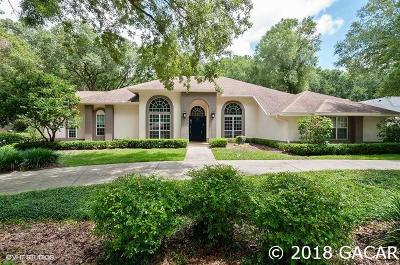 Gainesville FL Single Family Home For Sale: $665,000