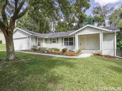 Gainesville Single Family Home For Sale: 11234 NW 33RD Avenue