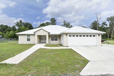 Gainesville Single Family Home For Sale: 2575 NE 71st Terrace