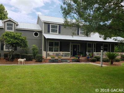 High Springs Single Family Home For Sale: 19802 NW 190th Avenue