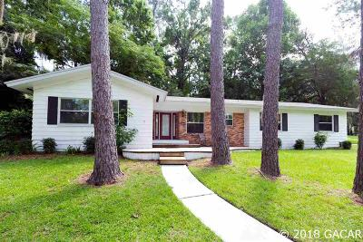 Gainesville Single Family Home For Sale: 2920 SW 1ST Avenue
