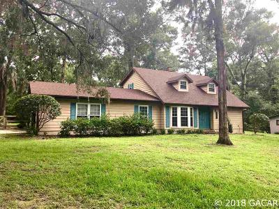 Gainesville Single Family Home For Sale: 6725 NW 43rd Place