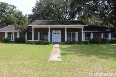 Newberry Single Family Home For Sale: 28101 W Newberry Rd