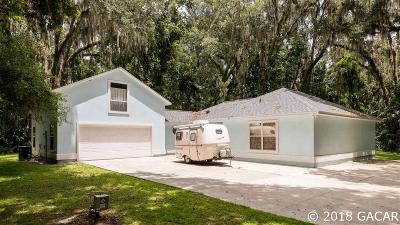Micanopy Single Family Home For Sale: 14113 SE 14TH Terrace