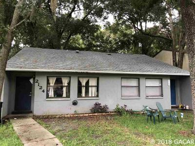 Gainesville Multi Family Home For Sale: 2124 SW 70TH Terrace