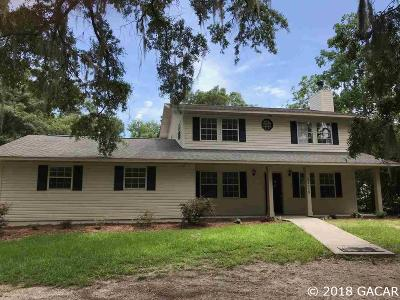 Newberry Single Family Home For Sale: 26119 W Newberry Road