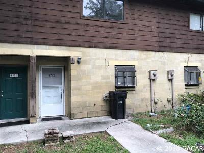 Gainesville Condo/Townhouse For Sale: 4313 SW 69TH Terrace
