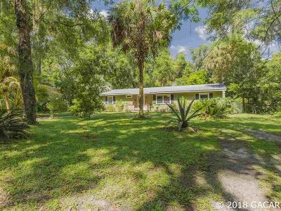 Micanopy Single Family Home For Sale: 108 SW Whiting Street
