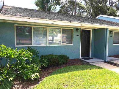 Gainesville Condo/Townhouse For Sale: 501 SW 75th Street #E-10