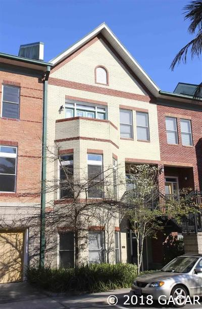 Gainesville Condo/Townhouse For Sale: 135 NE 3RD Street
