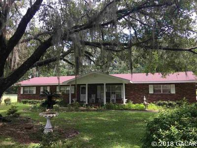 Williston FL Single Family Home For Sale: $269,000