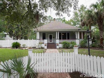 Gainesville Single Family Home For Sale: 320 NE 7th Street