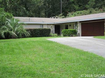 Alachua Rental For Rent: 11502 Creek Drive